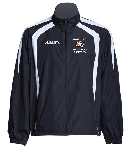 Howland Warm Up Jacket - SwimOutlet Unisex Warm Up Jacket