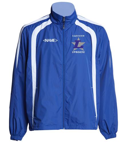 Lakeview Warm Up Jacket - SwimOutlet Unisex Warm Up Jacket