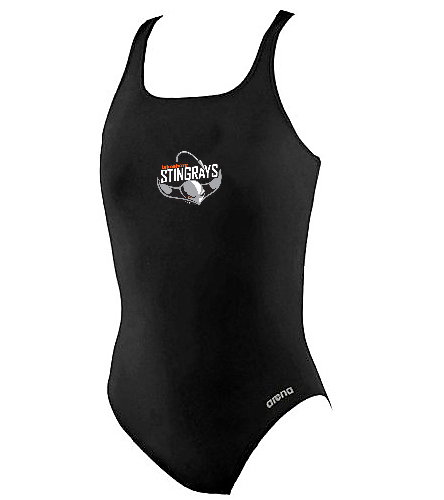 Arena Girl's Thick Strap - Arena Girls' Madison Athletic Thick Strap Racer Back One Piece Swimsuit