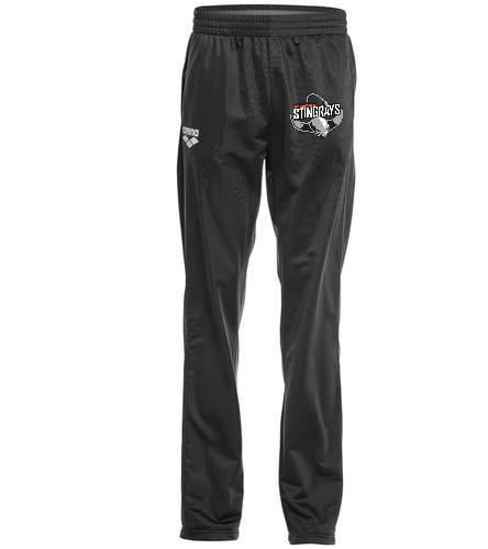 stingray's unisex warm up pant - Arena Unisex Team Line Knitted Poly Pant