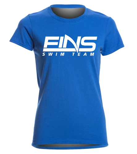 FINS - SwimOutlet Women's Cotton Missy Fit T-Shirt