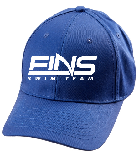 FINS  - SwimOutlet Unisex Performance Twill Cap