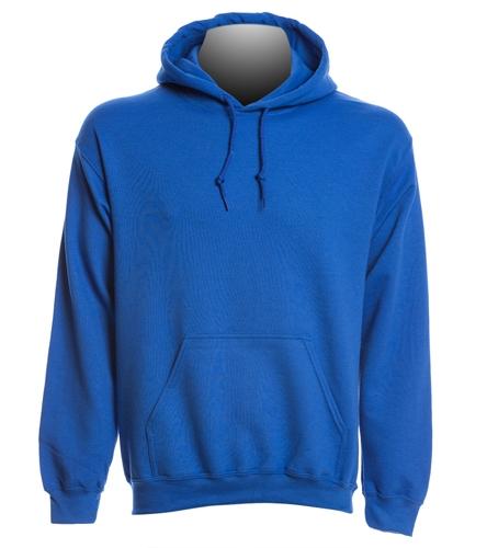 TOSS Blue hoodie - SwimOutlet Heavy Blend Unisex Adult Hooded Sweatshirt