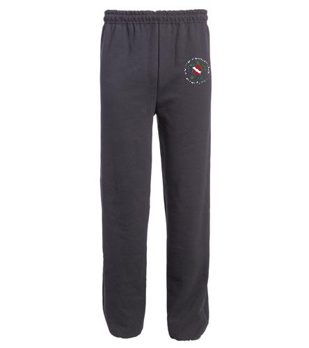 TOSS Black Adult Sweats - SwimOutlet Heavy Blend Unisex Adult Sweatpant