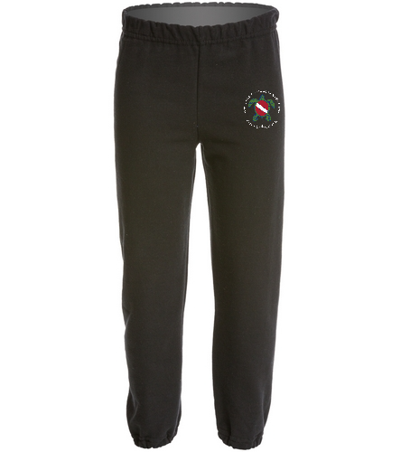 TOSS Black Youth Sweats - SwimOutlet Heavy Blend Youth Sweatpant