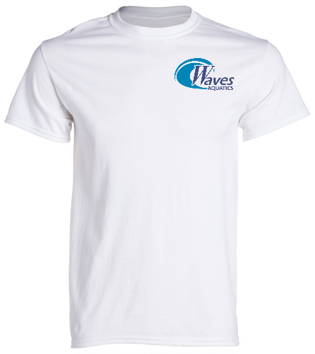 Adult White TeeShirt - SwimOutlet Cotton Unisex Short Sleeve T-Shirt