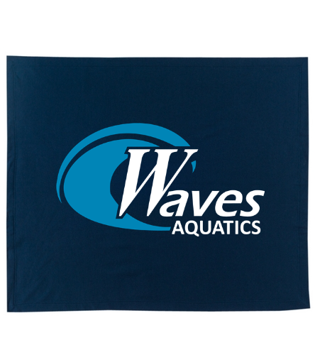 Navy Blanket - SwimOutlet Stadium Blanket