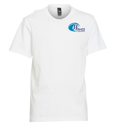 Youth White TeeShirt - SwimOutlet Youth Unisex T-Shirt