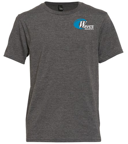 Youth Grey Tee Shirt - SwimOutlet Youth Unisex T-Shirt