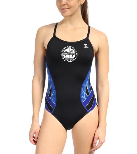 NHSTC Swim Team Suit - TYR Women's Phoenix Splice Diamondfit One Piece Swimsuit