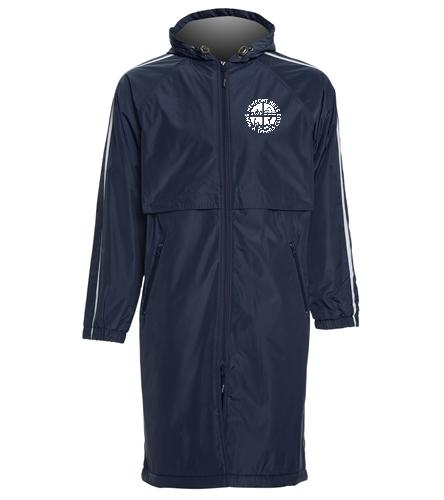 NHSTC Fleece Parka - Sporti Striped Comfort Fleece-Lined Swim Parka