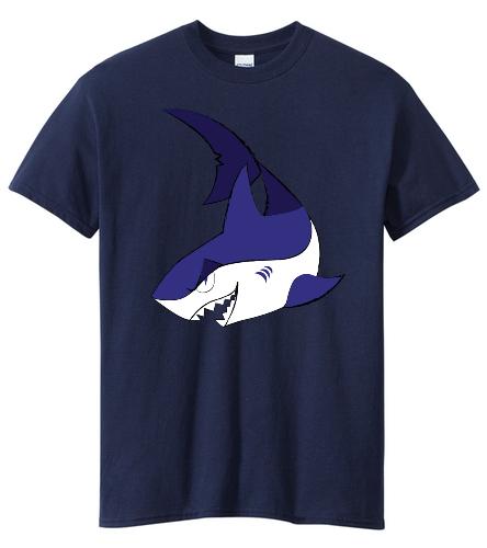 Swim Team T-Shirt front - SwimOutlet Unisex Cotton Crew Neck T-Shirt