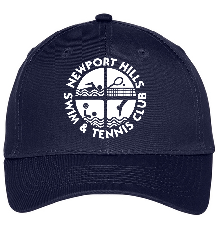 NHSTC Hat - SwimOutlet Unisex Performance Twill Cap