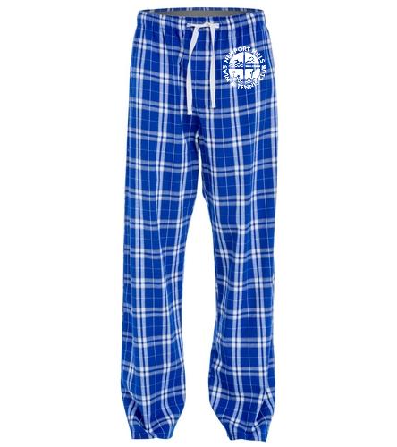 NHSTC Pjs - SwimOutlet Unisex Flannel Plaid Pant