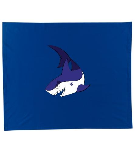 Shark Blanket - SwimOutlet Stadium Blanket
