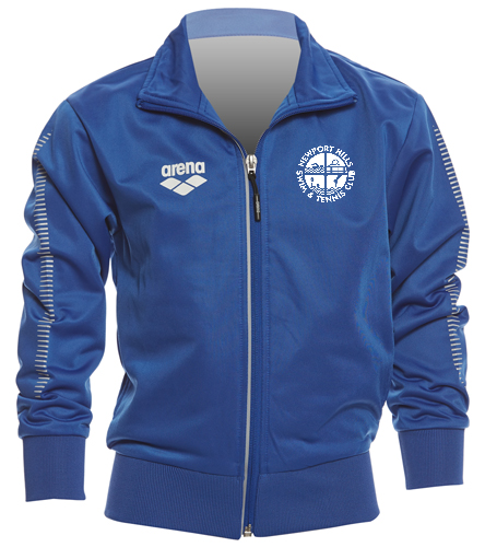 NHSTC Royal Poly Jacket - Arena Youth Team Line Knitted Poly Jacket