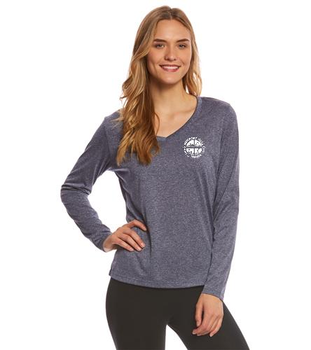 NHSTC Long Sleeve - SwimOutlet Women's Long Sleeve Tech T Shirt