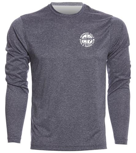 NHSTC Tech Shirt - SwimOutlet Men's Long Sleeve Tech T Shirt