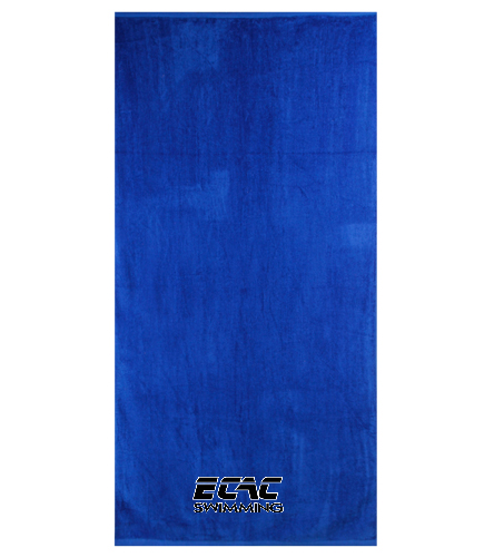ECAC  - Royal Comfort Terry Velour Beach Towel 32 X 64