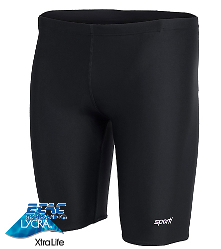 ECAC - Sporti Solid Compression Jammer Swimsuit
