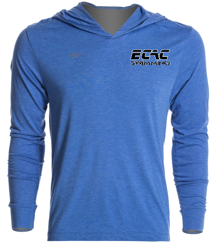 ECAC BLUE - Speedo Unisex Pull Over Hoodie
