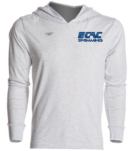 ECAC WHITE - Speedo Unisex Pull Over Hoodie
