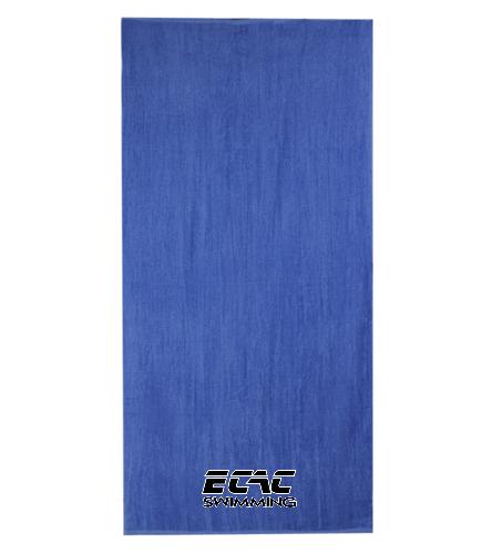 ECAC  - Diplomat Terry Velour Beach Towel 30 x 60