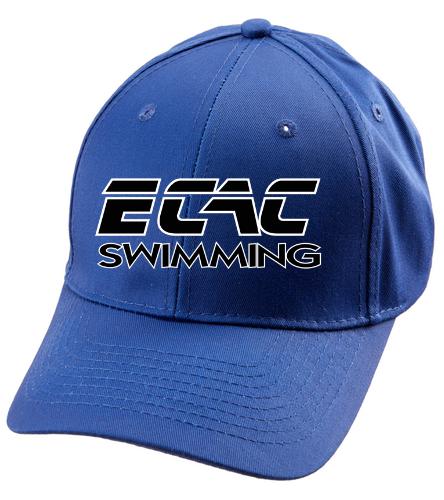 ECAC BLUE - SwimOutlet Unisex Performance Twill Cap