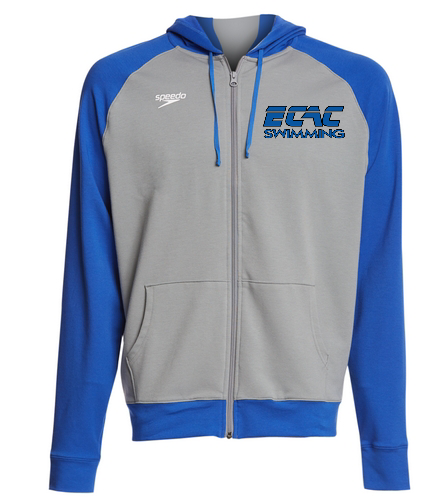 ECAC BLUE - Speedo Unisex Full Zip Hoodie
