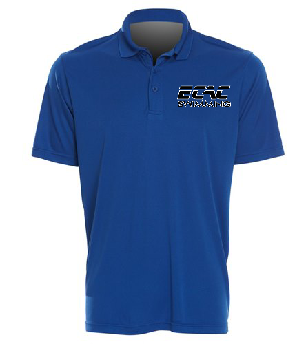 ECAC BLUE - SwimOutlet Sport-Tek® PosiCharge® Competitor™ Polo