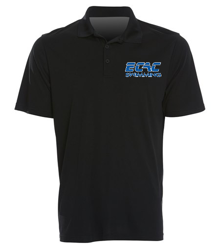 ECAC BLACK - SwimOutlet Sport-Tek® PosiCharge® Competitor™ Polo