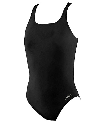 Team Madison Thick Strap - Arena Girls' Madison Athletic Thick Strap Racer Back One Piece Swimsuit