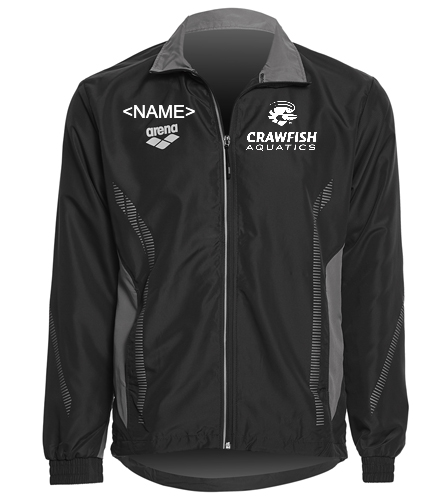 Warm Up Top - Arena Unisex Team Line Ripstop Warm Up Jacket