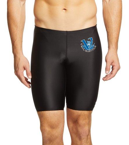 Viking's Men's Team Suit Black - The TYR Men's TYReco Solid Jammer