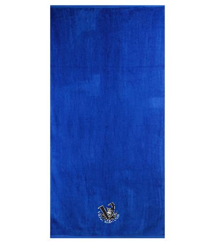 Viking's Beach Towel - Royal Comfort Terry Velour Beach Towel 32 X 64