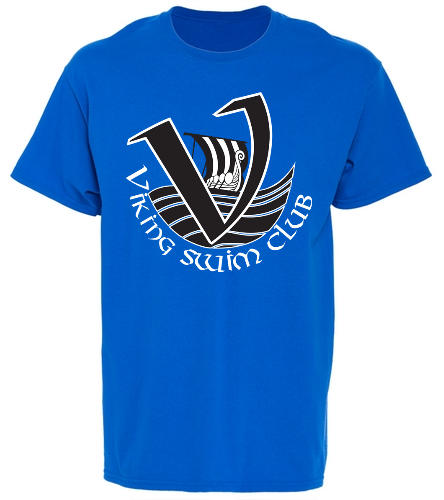 Vikings Youth Team Shirt - SwimOutlet Youth Cotton Crew Neck T-Shirt