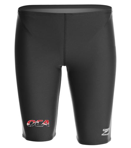 OCA Jammer - Speedo Men's Solid Endurance+ Jammer Swimsuit