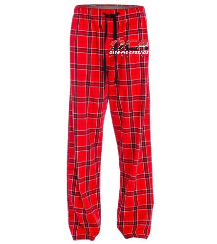 OCA Flannel pants - SwimOutlet Unisex Flannel Plaid Pant
