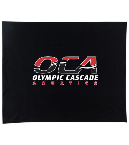 OCA black blanket - SwimOutlet Stadium Blanket