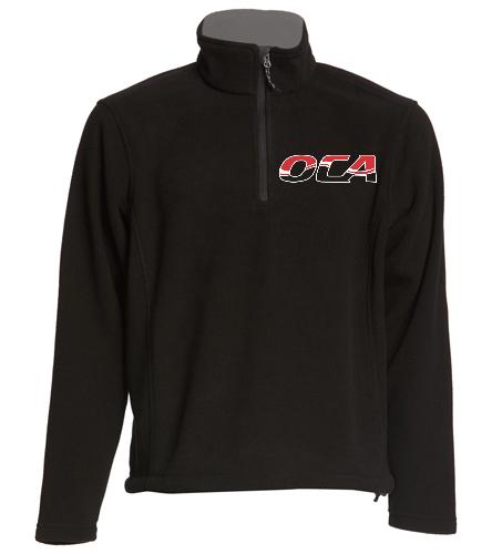 OCA fleece - SwimOutlet Adult Unisex Fleece 1/4-Zip Pullover