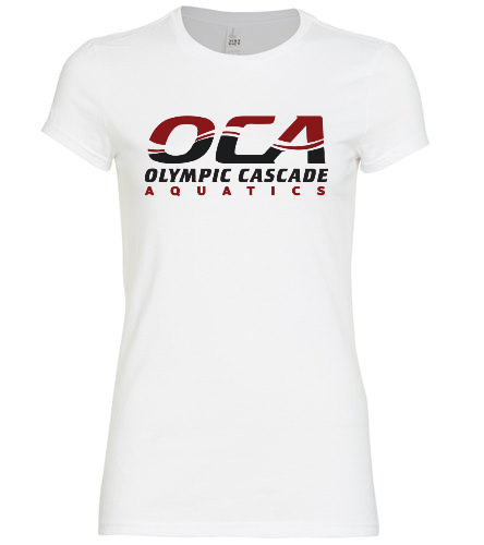white women's fitted tee - SwimOutlet Women's District® Fitted Very Important Tee
