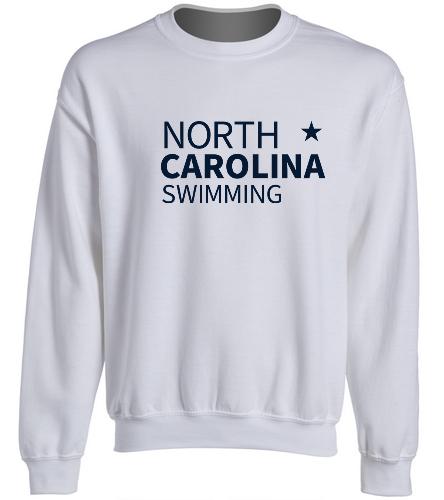 NCS Sweat Shirt - SwimOutlet Heavy Blend Unisex Adult Crewneck Sweatshirt