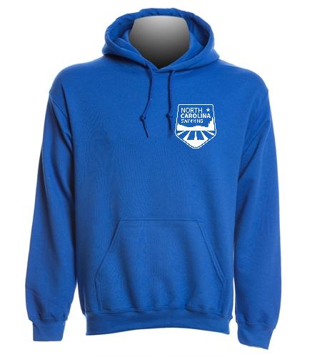 NCS Royal Hooded Sweat Shirt - SwimOutlet Heavy Blend Unisex Adult Hooded Sweatshirt