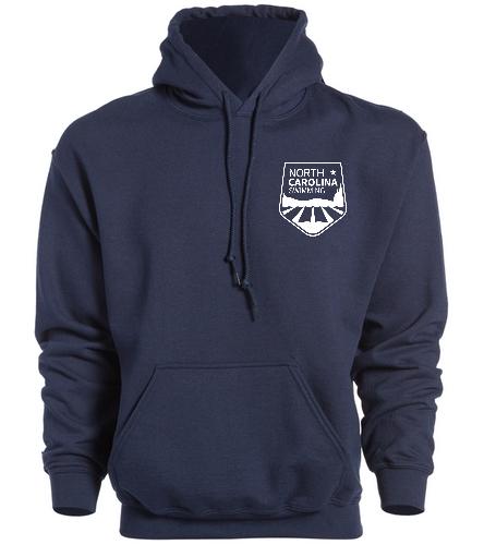 NCS Navy Hooded Sweat Shirt - SwimOutlet Heavy Blend Unisex Adult Hooded Sweatshirt