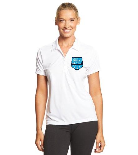 NCS White Polo - Women's - SwimOutlet Sport-Tek® Women's PosiCharge® Competitor™ Polo