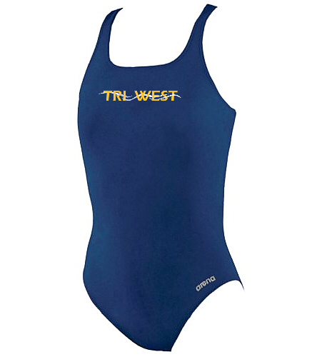 TRIW - Arena Girls' Madison Athletic Thick Strap Racer Back One Piece Swimsuit