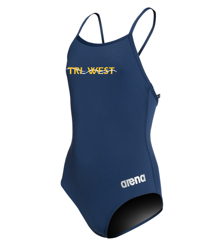 TRIW - Arena Girls' Master MaxLife Thin Strap Micro Back One Piece Swimsuit