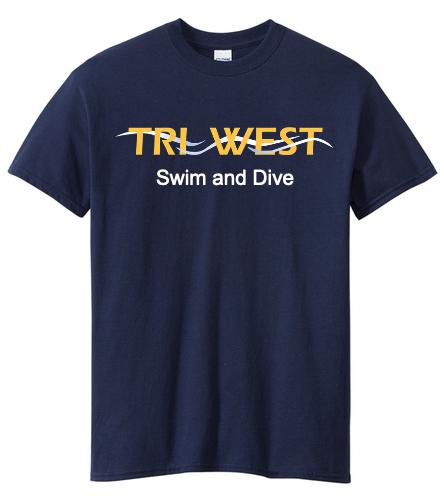 TRIW - SwimOutlet Men's Cotton Crew Neck T-Shirt