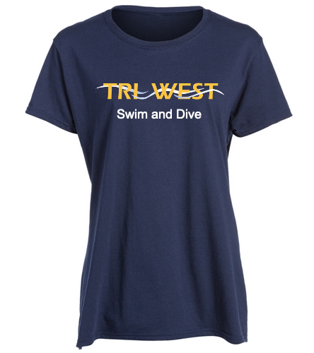 TRIW - SwimOutlet Women's Cotton Missy Fit T-Shirt