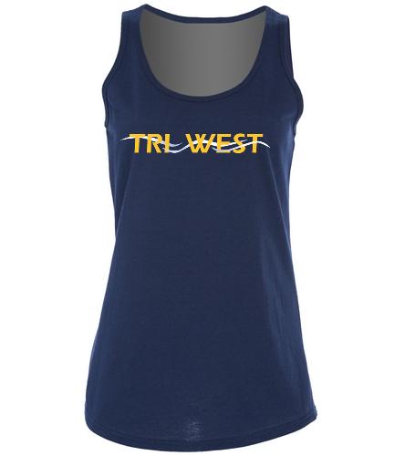TRIW  - SwimOutlet Women's Cotton Racerback Tank Top